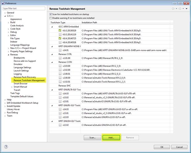 How do I manually integrate the GCC toolchain into e2 Studio and SSP